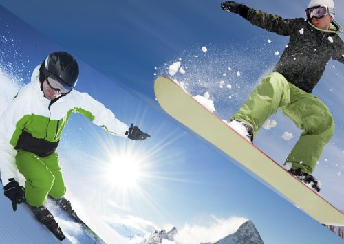 Ski oder Snowboard? Eine Entscheidungshilfe