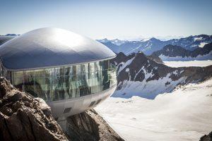 ©Pitztaler Gletscherbahn | Österreichs höchstgelegenes Café: Das Café 3.440