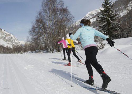 Skilanglauf inbegriffen in Zermatt