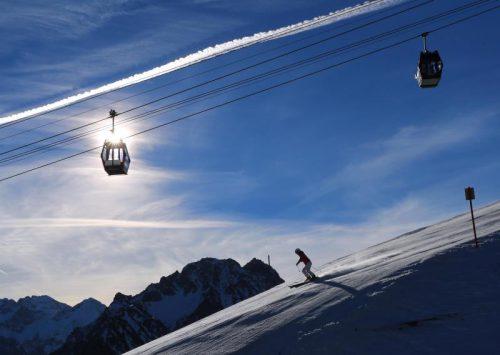 Etwas höhere Tagespreise für Skigebiete in den Alpen